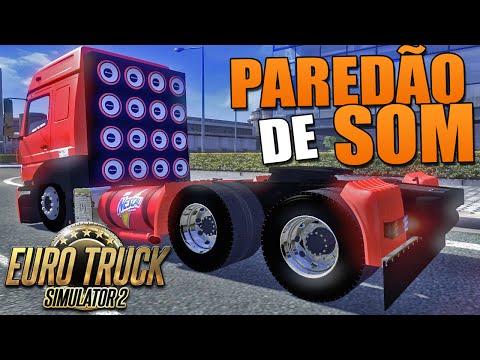 Paredão de Som - Euro Truck Simulator 2