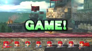 getlinkyoutube.com-Why There's No Realistic Clapping Sound Effects In Smash Super Smash Bros. for Wii U Part 3