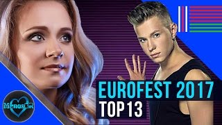 getlinkyoutube.com-Eurovision Belarus 2017: National Final (Eurofest) - my top 13