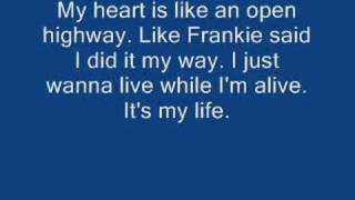 getlinkyoutube.com-Bon Jovi - It's my life w/ lyrics