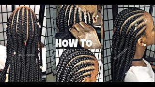 getlinkyoutube.com-#139. 4 BEGINNERS FEED IN BRAIDS