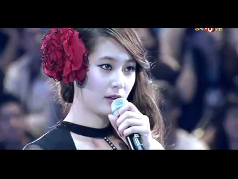 110522 SBS Kiss & Cry - f(x) Krystal [Ice dancing]