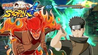 getlinkyoutube.com-Naruto Storm 4 Perfect Susanoo Shisui & 8 Gates Guy Awakening and Ultimate Jutsu