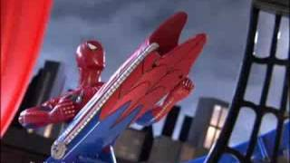 getlinkyoutube.com-Spiderman Racing Set