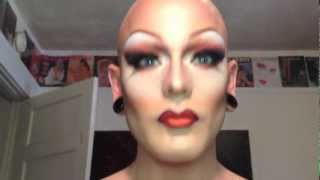 getlinkyoutube.com-Transformation Drag MakeUp Tutorial MAC 2 - Disco