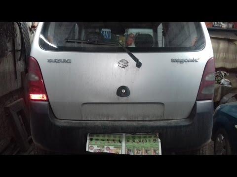 Обзор Suzuki Wagon R+/Сузуки Вагон Эр+.Лопнула верхняя опора стойки.