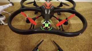 getlinkyoutube.com-Unboxing WLtoys V393 Brushless Quadcopter Upgraded V262