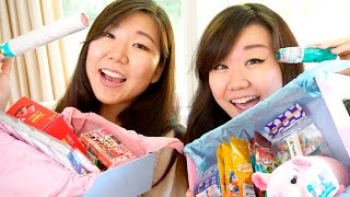 getlinkyoutube.com-Unboxing Surprise Gift Boxes from Bekka with Jenny!!