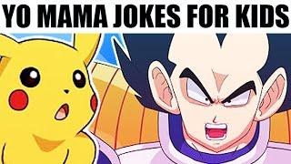 YO MAMA FOR KIDS! Anime Jokes ft. Pokemon, Dragon Ball Z (DBZ)