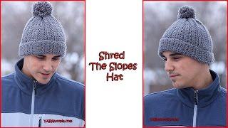 getlinkyoutube.com-Crochet Tutorial: Shred The Slopes Hat