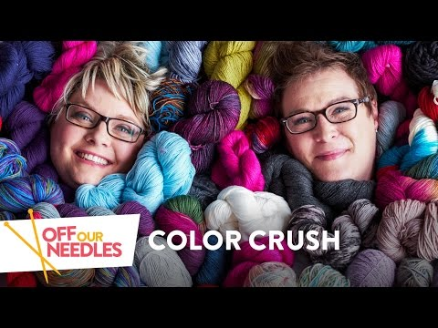 Off Our Needles Color Crush | Episode 1 and a Love of Colorful Knitting with the Grocery Girls