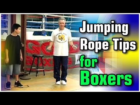 Become A Better Boxer - Tips for Jumping Rope featuring Kenny Weldon