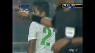 Indonesia vs Netherlands (Andik Vermansyah Action)