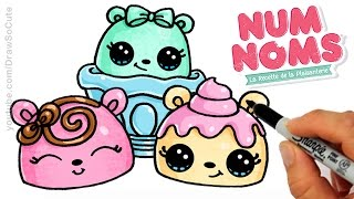 getlinkyoutube.com-How to Draw Num Noms step by step Cute and Easy