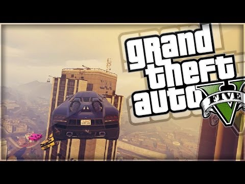 GTA 5 | The Biggest Troll Race Ever (GTA V Online Funny Moments)