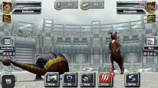 getlinkyoutube.com-Jurassic Park Builder Glacier Battle Tournament