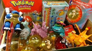 What's in the box: Random Pokemon Toys #3