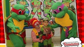 getlinkyoutube.com-Shows Tortugas Ninjas - Show Infantil - Travesuras Kids
