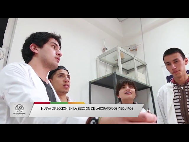 Nueva dirección en la sección de laboratorios y equipos
