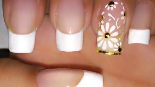 getlinkyoutube.com-Francesinha Perfeita com Filha única margaridas placa KXP-01 perfect daisies