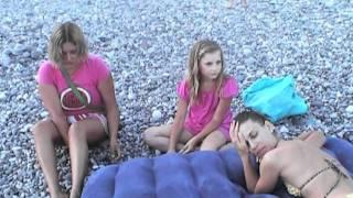 getlinkyoutube.com-clip 2009 07 Абхазия , Идем на пляж к морю