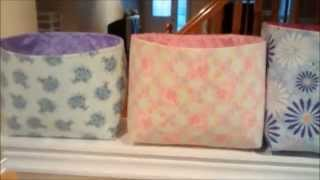 getlinkyoutube.com-DIY Fabric Bins