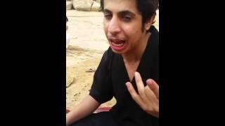 getlinkyoutube.com-سعودي سكران يغني دبكه سوريه روعه