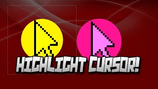 getlinkyoutube.com-How To Get A Yellow Circle Around Your Mouse Cursor For FREE! | Highlight  Cursor With Any Color!