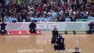 getlinkyoutube.com-第16回世界剣道 日本対カナダ Japan vs Canada [16th wkc]
