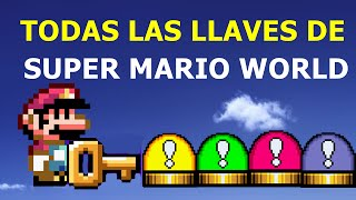 getlinkyoutube.com-TODAS LAS LLAVES SECRETAS DE SUPER MARIO WORLD