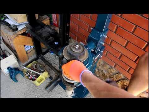 Замена передних стоек и опор Чери Амулет 2010 1,6 Chery Amulet A15