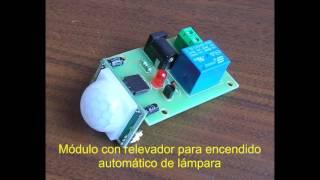 getlinkyoutube.com-Switch Módulo Sensor Movimiento HC-SR501 Infrarrojo Pasivo PIR Relevador