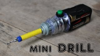 How to make a Mini Drill Machine | Very cheap