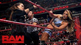 Nia Jax vs. Emma: Raw, July 24, 2017