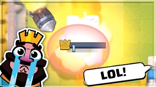 getlinkyoutube.com-Clash Royale TOP FUNNY MOMENTS, Fails, Trolls, Glitches, Clutches Montage/Compilation