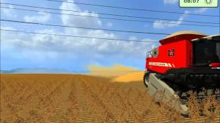 getlinkyoutube.com-Farming Simulator 2013 ; #Colheita da Soja