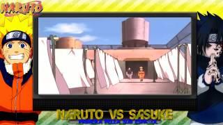 getlinkyoutube.com-Naruto vs Sasuke - Sub español HD - Primera Pelea