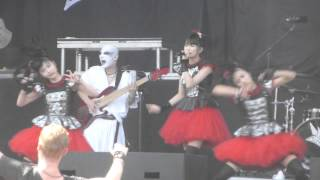 getlinkyoutube.com-BabyMetal - Megitsune  (Live at Heavy MTL)
