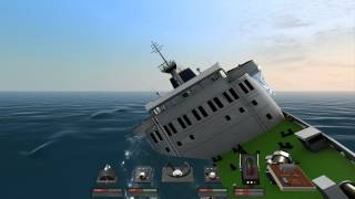 getlinkyoutube.com-Sinking of Albtaros IV | Ship Sim Extremes