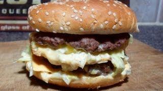 getlinkyoutube.com-How to make a Mcdonald's Big Mac - Easy Cooking!