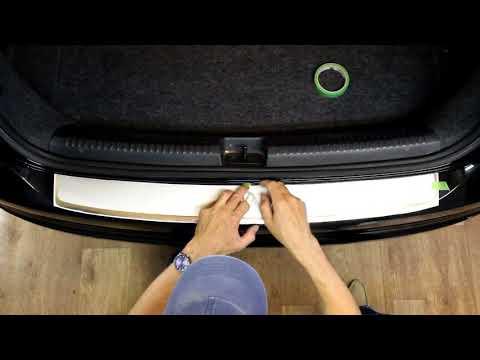 Наклейка на задний бампер для Volkswagen Jetta седан, 6 поколение