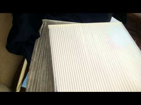 2013 Nissan Pathfinder Cabin Air Filter removal