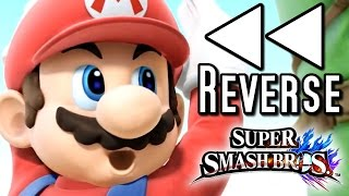 getlinkyoutube.com-Super Smash Bros ALL CHARACTER TRAILERS in REVERSE (Wii U, 3DS)