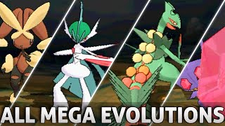 getlinkyoutube.com-Pokemon Omega Ruby and Alpha Sapphire: All Mega Evolutions!