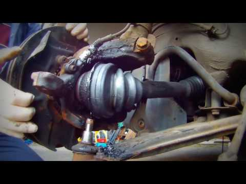 How to change the axis of the Seat Leon VW Golf/Как поменять полуось Seat Leon VW Golf