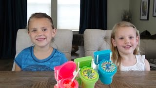 CANDY REVIEW   SOUR FLUSH TOILET BOWL CANDY
