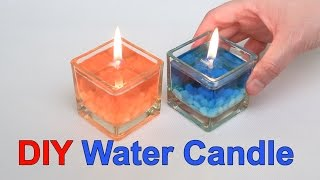 getlinkyoutube.com-DIY Beautiful Water Candle