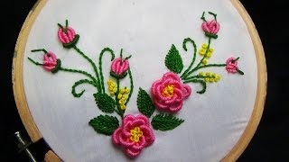 getlinkyoutube.com-Hand Embroidery: Brazilian Embroidery