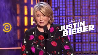 getlinkyoutube.com-Roast of Justin Bieber - Martha Stewart - Changing Lives for the Better