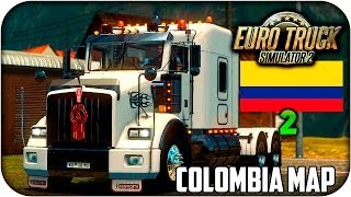 getlinkyoutube.com-Mapa de colombia | Euro truck simulator 2 | 1.17 - 1.21 | capitulo 2